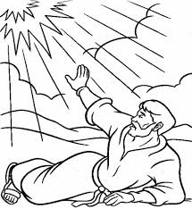Good Paul On The Road To Damascus Coloring Page 98 In For Kids With