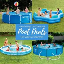WalmartR Swimming Pools Deals