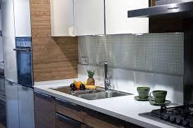 küche fliesenspiegel glas nach maß blitz design