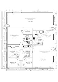 Metal 40x60 Homes Floor Plans by Barndominium Floor Plans Pole Barn House Plans And Metal Barn