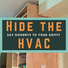 Kitchen Soffit Removal Ideas by How To Customize Kitchen Cabinets To Hide The Hvac