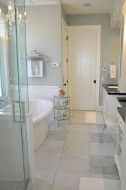 ultimate light gray bathroom floor tile in small home decor