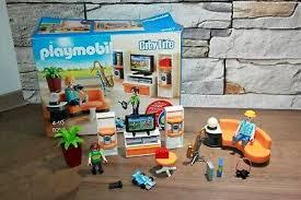 citylife playmobil city 9267 wohnzimmer neu ovp co