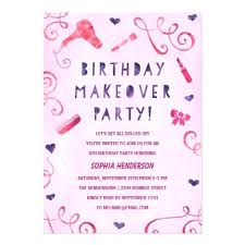 Invitation For Girl Birthday Party Spa Birthday Party Invitations