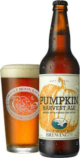 Harvest Moon Pumpkin Ale by Handcrafted Beer Half Moon Bay And Berkeley Locations