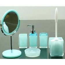Rustic Bathroom Rug Sets by Teal Blue Bathroom Decor Rustic Country Mason Jar Sets Trendy New