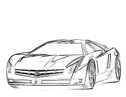 Wonderfull Design Race Cars Coloring Pages Free Printable Car For Kids At Eson Me