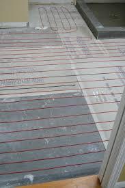 heated bathroom floors heated ceramic tile floor installation