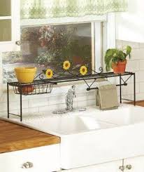 DAISY FLOWER KITCHEN COLLECTION Over Sink Shelf Style Brighten And Helps To Organize Your