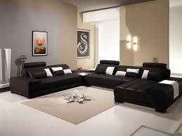 wohnzimmer dekor ideen in schwarz und beige design mit beige
