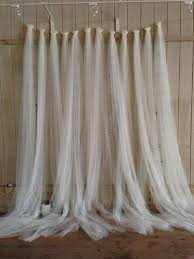 50th Wedding Tulle Backdrop