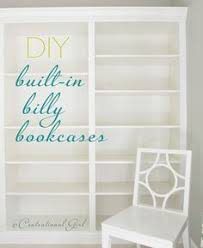 Ikea Pantry Hack Kitchen Pantry Using Ikea Billy Bookcase by 5 Ways To Fake Built In Shelving Ikea Billy Moldings And Crown