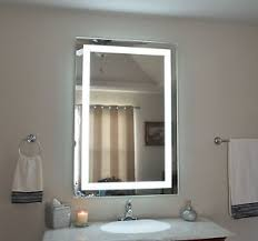 vibrant creative wall mounted makeup mirror with lights how to