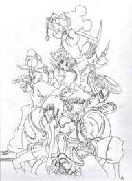 Free Kingdom Hearts Coloring Pages With Printable For Kids