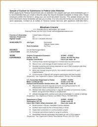 Federal Jobs In Va Newfangled Usa Sample Resume Template Inspirational Id Builder