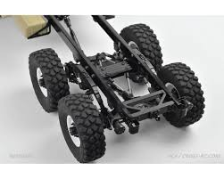 100 Rc Trucks Videos Cross RC HC6 110 6x4 Scale Off Road Military Truck Kit CZRHC6