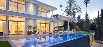This 16000 Square Foot Home Was Designed By The British Architects And Builders Who Created Milans Fashion District Chic Design A Giant Glass Box