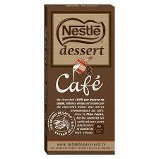 chronodrive nestle dessert tablette de chocolat pâtissier au
