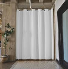 interior decor recommended tension rod room divider for home