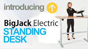 Ergo Elements Standing Desk by Introducing The Powerjack Electric Standing Desk