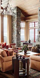 Rustic Living Room Wall Ideas by Cabin Decor Rustic Interiors And Log Cabin Decorating Ideas