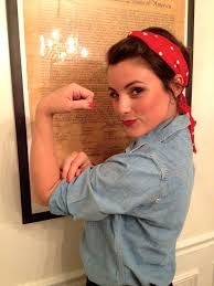 Rosie The Riveter Halloween Tutorial by 94 Best Holiday Halloween Images On Pinterest Holidays