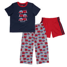 Carter's Toddler Boy's 3-Piece Fire Truck Print Sleep Set