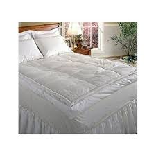 Amazon Five Inch Downtop Gusset Luxurious Feather Mattress