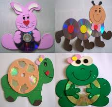 Recycled CD Crafts Ideas For Kids