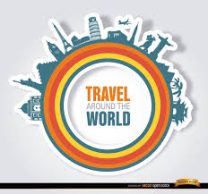You Can Use This Cool Design As A Logo For Travel And Tourism Agencies Since It