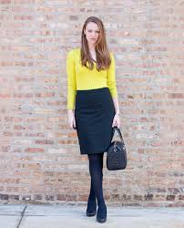Work Wear Neon Yellow Green Sweater Quilted Kate Spade