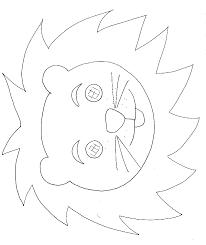 Masque De Panda à Colorier