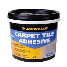 unique carpet tile adhesive spray dunlop 2l pressure sensitive