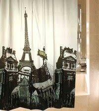 Paris Eiffel Tower Bathroom Accessories by Paris Eiffel Tower Triumphal Arch Shower Curtain Paris Vintage