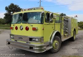 100 Pierce Fire Trucks For Sale 1978 1871LPC Fire Truck Item DQ9375 SOLD Octobe