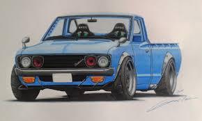 100 Datsun Truck 620 Drift Nuno Teixeira Draw To Drive