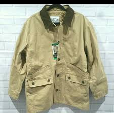 Orvis NWT ORVIS Men Barn Coat Tan Heavy Cotton XL from