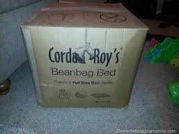 Bean Bag Bed Shark Tank by A Bean Bag Chair With A Bed Inside Cordaroy U0027s Bean Bag Bed Review