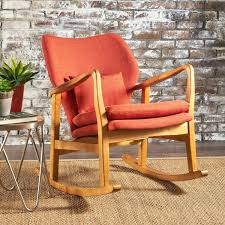 Orange Rocking Chair – Stalkci