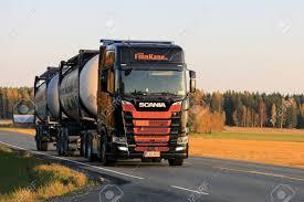 100 Kane Trucking HUMPPILA FINLAND SEPTEMBER 29 2017 Orange And Black Next