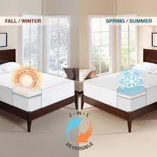 Cooling Bed Topper by Novaform 3 U201d Seasonal Memory Foam Mattress Topper