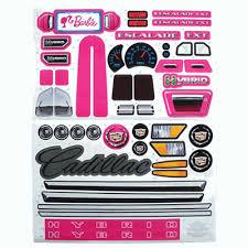 Pink Cadillac Escalade Label Sheet Escalade Label Sheets