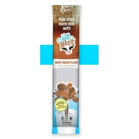 Milk Magic*Root Beer Float* Magic Milk Straw 4pk