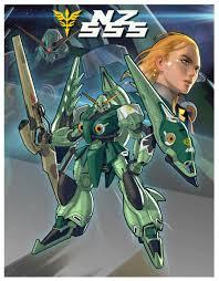 100 555 Design ArtStation NZ Orchid Gundam Fan Alex Chen