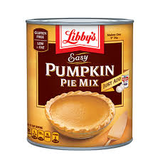Solid Pack Pumpkin Pie Recipe by Libby U0027s Pumpkin Product Page 100 Pure Pumpkin Pumpkin Pie Mix
