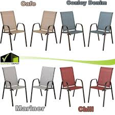 SET OF 2 Stackable Sling Seat Outdoor Dining Chair Coffee Bistro ... Patio Chairs At Lowescom Contemporary Ding Chair Stackable Recyclable Product And Modern Lowes Round And Ding Outdoor Costco Alinum Depot Noble House Dover Multibrown Stackable Wicker Chair Mercury Row Corrales Stacking Reviews Wayfair Plastic Herman Miller California White Furnish Vifah 3d 2 Included In Outdoor Chairs Backydinajarcom Trade Winds Restaurant With Centauro Cantilever Couture