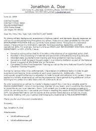 Police Dispatcher Cover Letter Resume Transportation