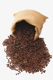 Bag Of Coffee Beans Freshly Ground PNG And PSD