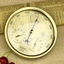 details about hochwertig barometer temperatur hygrometer analog für wohnzimmer lagerraum