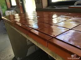 arbeitsplatten fliesen für die küche handgeformt